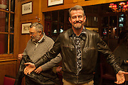 KEITH KING; ADAM MARS-JONES, The Omnivore hosts the third Hatchet  Job of the Year Award. Sponsored by the Fish Society.  The Coach and Horses. Greek st. Soho. London. 11 February 2014.