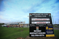 21 September 2016 - EFL Cup - 3rd Round - Northampton Town v Manchester United - A general view (GV) of  Sixfields Stadium - Photo: Marc Atkins / Offside.