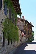 Italy, Collio. San Floriano del Collio. The Golf Hotel.