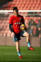 Football - 2016 / 2017 Premier League - Southampton vs. Middlesbrough<br /> <br /> David Nugent of Middlesbrough before kick off at St Mary's Stadium Southampton England<br /> <br /> COLORSPORT/SHAUN BOGGUST
