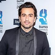 NLD/Hilversum/20150217 - Inloop Buma Awards 2015, Dotan Harpenau
