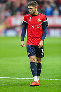 Doncaster Rovers defender Danny Andrew (3) during the EFL Sky Bet League 1 second leg Play-Off match between Charlton Athletic and Doncaster Rovers at The Valley, London, England on 17 May 2019.