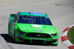 March 23, 2019 - Martinsville, VA, U.S. - MARTINSVILLE, VA - MARCH 23: #6: Ryan Newman, Roush Fenway Racing, Ford Mustang Acorns during final practice for the STP 500 Monster Energy NASCAR Cup Series race on March 23, 2019 at the Martinsville Speedway in Martinsville, VA.  (Photo by David J. Griffin/Icon Sportswire) (Credit Image: © David J. Griffin/Icon SMI via ZUMA Press)