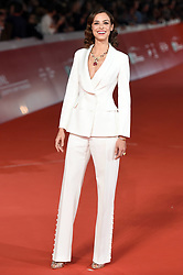 Arianna Di Martino during the red carpet for The House With A Clock in its Walls premiere at the Rome Film Fest on October 19, 2018