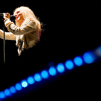 111712       Cable Hoover<br /> <br /> Singer Kim Carnes performs in concert at El Morro Theatre in Gallup Saturday.