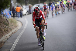 March 18, 2017 - San Remo, Italie - SANREMO, ITALY - MARCH 18 : WELLENS Tim (BEL) Rider of Team Lotto - Soudal and CATTANEO Mattia (ITA) Rider of Androni Giocattoli attacking on the Cipressa climb during the UCI WorldTour 108th Milan - Sanremo cycling race with start in Milan and finish at the Via Roma in Sanremo on March 18, 2017 in Sanremo, Italy, 18/03/2017 (Credit Image: © Panoramic via ZUMA Press)