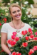 Camilla Kirslake the girlfriend of Chris Robshaw. RHS Chelsea Flower Show, Chelsea Hospital, London UK, 18 May 2015.