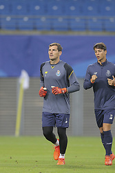 """October 17, 2017 - Na - Leipzig, 10/16/2017 - Training to adapt to the pitch of the Fc Porto team at the Red Bull Arena, in anticipation of the game against RB Leipzig for the Champions League. Iker Casillas, Ã""""river Torres  (Credit Image: © Atlantico Press via ZUMA Wire)"""
