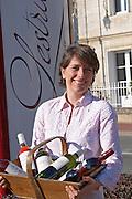 Estelle Roumage owner chateau lestrille bordeaux france