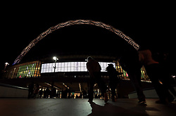 General view of Wembley Stadium before the game