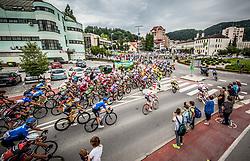 Supporters Primoz Roglic of Team Lotto NL Jumbo in Zagorje ob Savi during 3rd Stage of 25th Tour de Slovenie 2018 cycling race between Slovenske Konjice and Celje (175,7 km), on June 15, 2018 in  Slovenia. Photo by Vid Ponikvar / Sportida