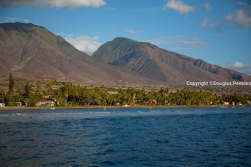 Lahaina, West Maui Mountains, Hawaii