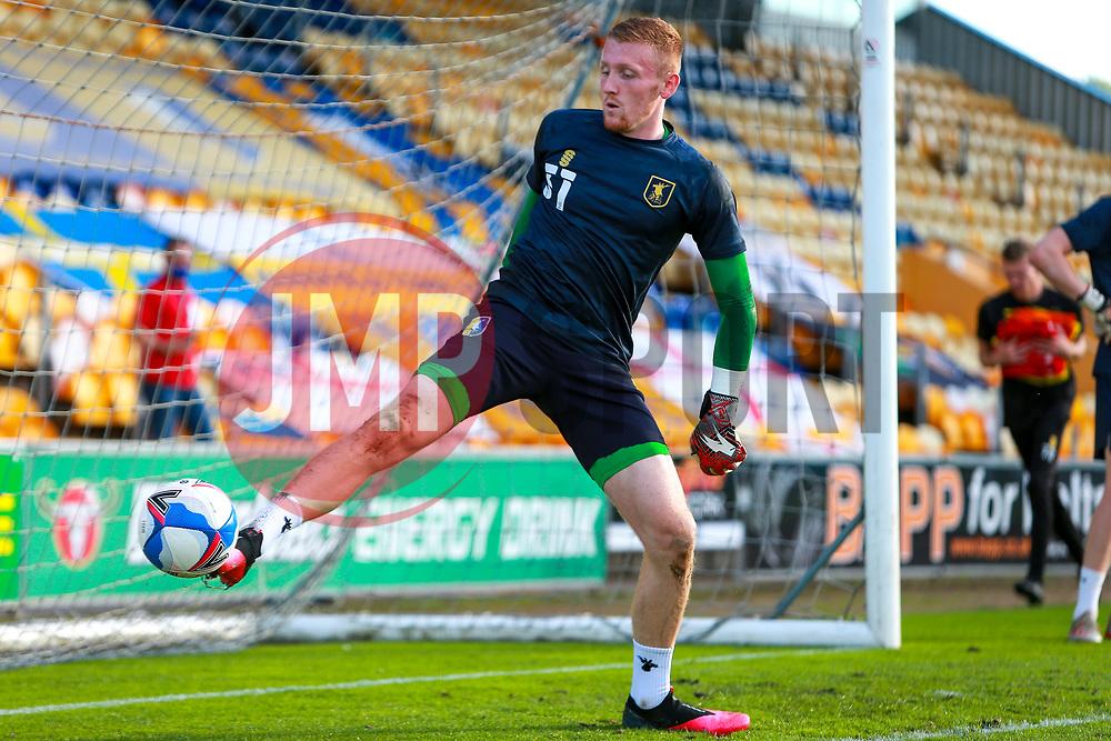 Aidan Stone of Mansfield Town - Mandatory by-line: Ryan Crockett/JMP - 08/09/2020 - FOOTBALL - One Call Stadium - Mansfield, England - Mansfield Town v Manchester City U21 - Leasing.com Trophy