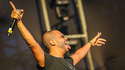 Projota se apresenta no Palco Planeta  durante a 22ª edição do Planeta Atlântida. O maior festival de música do Sul do Brasil ocorre nos dias 3 e 4 de fevereiro, na SABA, na praia de Atlântida, no Litoral Norte gaúcho.  Foto: André Feltes / Agência Preview