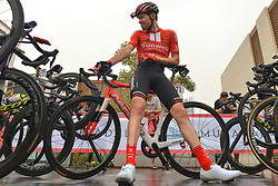 March 1, 2019 - Ajman, United Arab Emirates - Dutch rider, Tom Dumoulin of Team Sumweb, seen at the start line of the sixth Rak Properties Stage of UAE Tour 2019, a 180km with a start from Ajman and finish in Jebel Jais. .On Friday, March 1, 2019, in Ajman, Ajman Emirate, United Arab Emirates. (Credit Image: © Artur Widak/NurPhoto via ZUMA Press)
