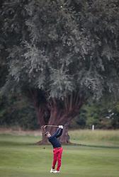 27.09.2015, Beckenbauer Golf Course, Bad Griesbach, GER, PGA European Tour, Porsche European Open, im Bild Edouard Espana (FRA) // during the European Tour, Porsche European Open Golf Tournament at the Beckenbauer Golf Course in Bad Griesbach, Germany on 2015/09/27. EXPA Pictures © 2015, PhotoCredit: EXPA/ JFK