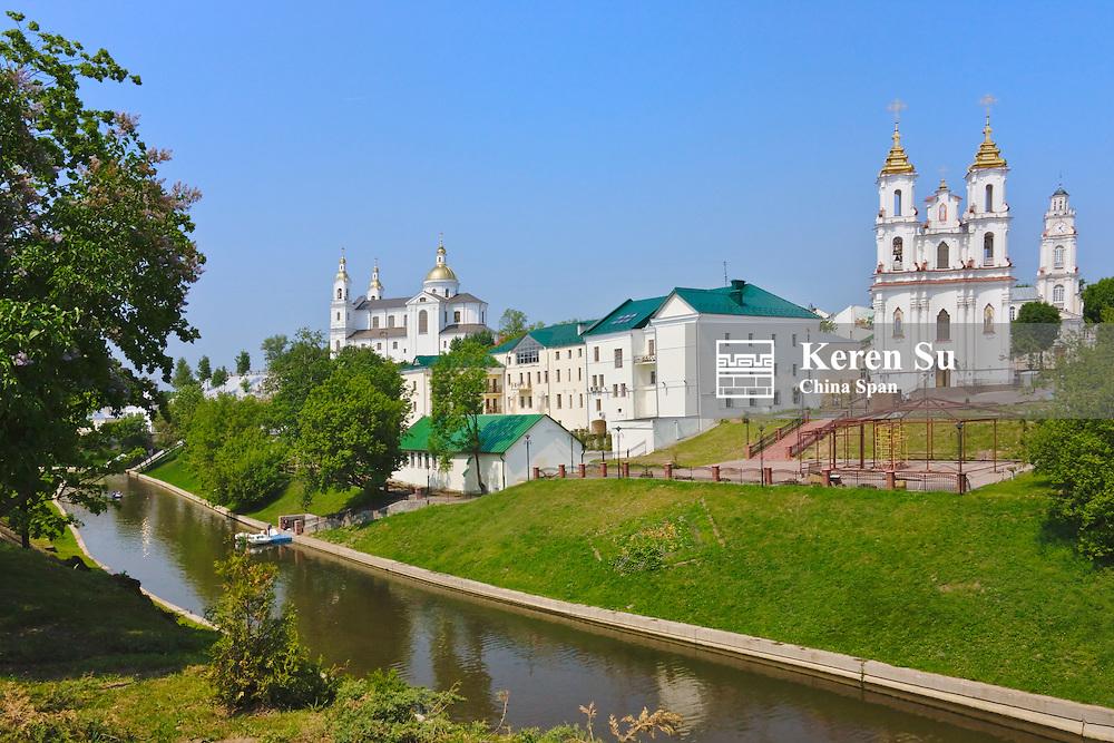 Resurrection Church along the Vitba River, Vitebsk, Belarus