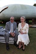 NICHOLAS LOGSDAIL; KITTY LOGSDAIL, 2014 Serpentine's summer party sponsored by Brioni.with a pavilion designed this year by Chilean architect Smiljan Radic  Kensington Gdns. London. 1July 2014