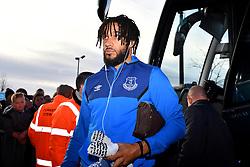 Everton's Ashley Williams arrives