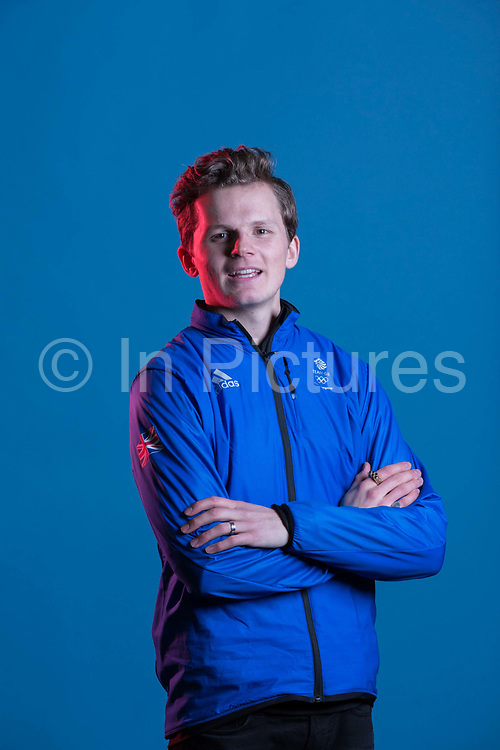 Jamie Nicholls during GB Park & Pipe Winter Olympic official Adidas kitting out day on 24th January 2018 in Stockport, United Kingdom.