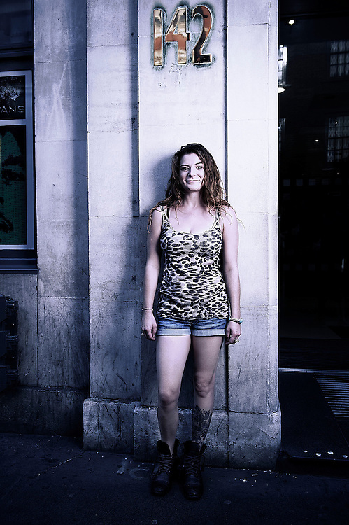 Soho Street shoots taken in Soho,London, September 8th , 2012..Photos by Ki Price