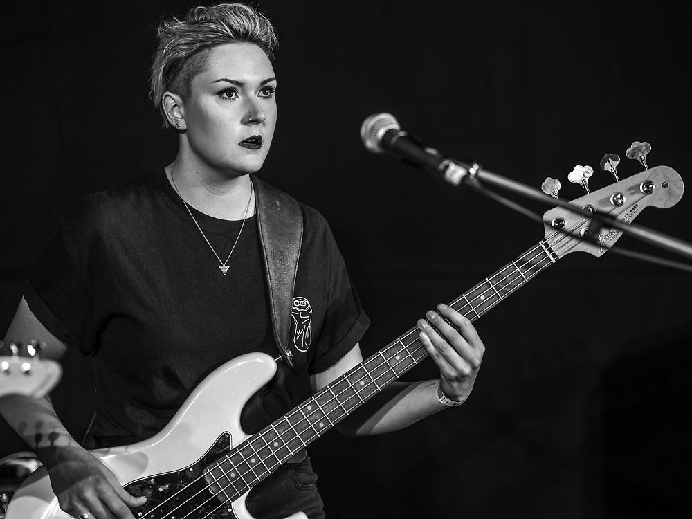 Naomi Le Dune of British post-rock band Another Sky at Haldern Pop Festival