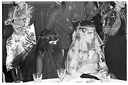 DEBORAH GILDNEY, HELEN BORROWS,  Sultans Ball, Oxford Town Hall, 10 March 1986.