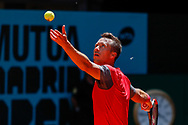 Philipp Kohlschreiber of Germany in action during the Mutua Madrid Open 2018, tennis match on May 10, 2018 played at Caja Magica in Madrid, Spain - Photo Oscar J Barroso / SpainProSportsImages / DPPI / ProSportsImages / DPPI