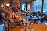 Dinner at Carl Doumani's, Napa Valley, CA