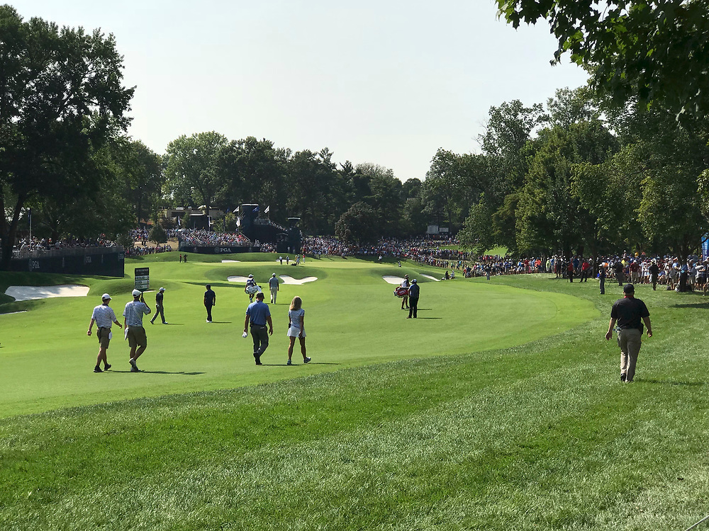 The 100th PGA Championship at Bellerive Country Club in St. Louis.