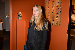 Lucie De La Falaise at the 2017 PAD Collector's Preview, Berkeley Square, London, England. 02 October 2017.