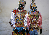 Amazing costumes of the Pagan-Christian festival