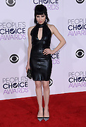 CARLY RAE JEPSEN  at  the People's Choice Awards 2016 held at the ©Exclusivepix Media