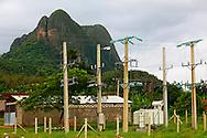 Power station, San Vicente, near Vinales, Pinar del Rio, Cuba.