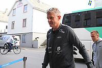 Fotball , 17. juni 2020 , Eliteserien,<br />Haugesund - Brann Bergen<br />Lars Arne Nilsen fra Brann Bergen før kampen mot Haugesund.<br />Foto: Andrew Halseid Budd , Digitalsport
