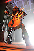 Photos of Finnish metal band Apocalyptica performing at the Pageant in St. Louis on August 31, 2010.