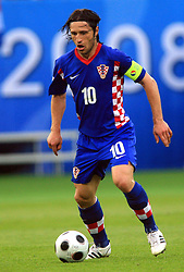 Niko Kovac, captain of Croatia during the UEFA EURO 2008 Group B soccer match between Austria and Croatia at Ernst-Happel Stadium, on June 8,2008, in Vienna, Austria.  (Photo by Vid Ponikvar / Sportal Images)