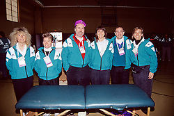 Massage Therapists, Boston Marathon 1992