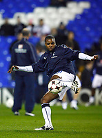Fotball<br /> Foto: Colorsport/Digitalsport<br /> NORWAY ONLY<br /> <br /> Jonathan Obika ( Spurs )<br /> <br /> Tottenham Hotspur Vs Spartak Moskva at White Hart Lane London UEFA Cup Group D. 18/12/2008.