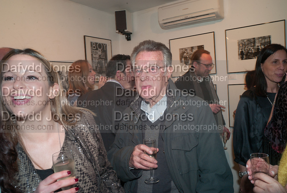 ALFRED RADLEY, Ossie Clark: The King of The King's Road Reigns Again . Mixed exhibition of photographs of Ossie Clark inc pictures by Terry O Neill, Homer Sykes and Neil Libbert, Proud Chelsea, King's Rd. London. 20 February 2013.