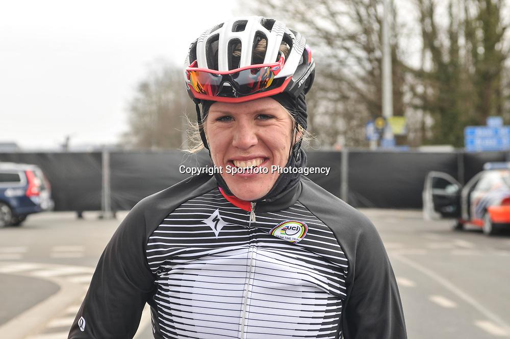 Sportfoto archief 2013<br /> Ronde van Vlaanderen Worlccup women Ellen van Dijk stond op het podium in de Ronde