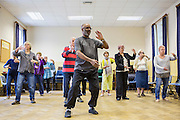 An AGE UK organised Tai Chi class for local residents of Bath, Somerset.
