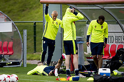 June 6, 2017 - Helsingborg, SVERIGE - 170606 Franz Brorsson under en trÅning med U21-landslaget i fotboll den 6 juni 2017 i Helsingborg  (Credit Image: © Ludvig Thunman/Bildbyran via ZUMA Wire)