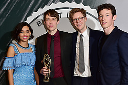 Peter Middleton, James Spinney, Georgina Campbell and Callum Tur bei den British Independent Film Awards in London / 041216<br /> <br /> <br /> *** at the British Independent Film Awards in London on December 4th, 2016 ***