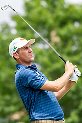 May 4, 2019 - Charlotte, NC, U.S. - CHARLOTTE, NC - MAY 04:  Brendon Todd hits from the 4th hole tee box during the third round of the Wells Fargo Championship at Quail Hollow on May 4, 2019 in Charlotte, NC. (Photo by William Howard/Icon Sportswire) (Credit Image: © William Howard/Icon SMI via ZUMA Press)