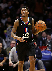 March 8, 2019 - Los Angeles, California, U.S - Los Angeles Clippers' Lou Williams (23) dribbles during an NBA basketball game between Los Angeles Clippers and Oklahoma City Thunder Friday, March 8, 2019, in Los Angeles. (Credit Image: © Ringo Chiu/ZUMA Wire)