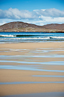 Scenic Traigh Lar Beach, near Horgabost, Isle of Harris, Outer Hebrides, Scotland