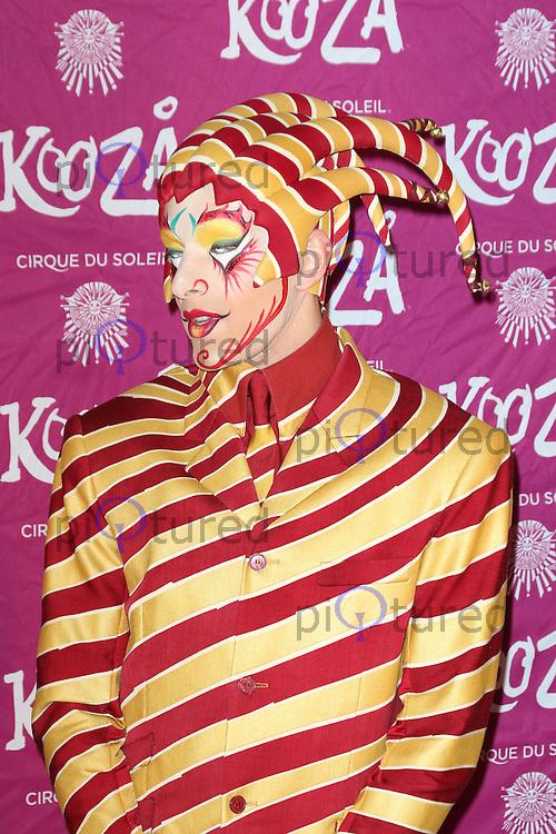 Cirque du Soleil: Kooza - press night, Royal Albert Hall, London UK, 06 January 2015, Photo by Richard Goldschmidt