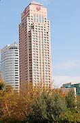 Israel, Ramat Gan, modern High rise building - Sheraton City tower hotel