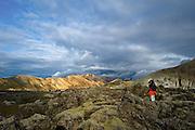 Landmannalaugar in south Iceland.